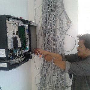 jasa kunjungan teknisi pabx / telepon