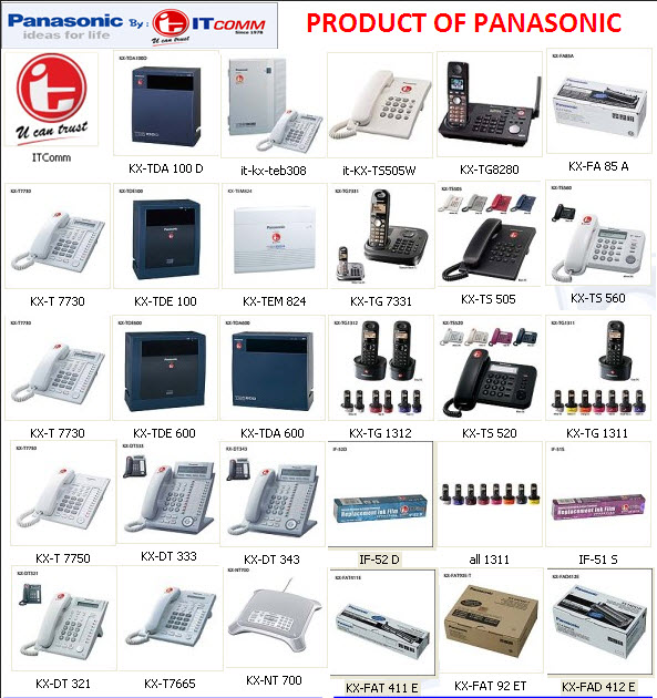 product of panasonic